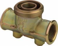 Viega Gasdruckregleranschlussstück G2335 in Rp1 Temperguss - 532192