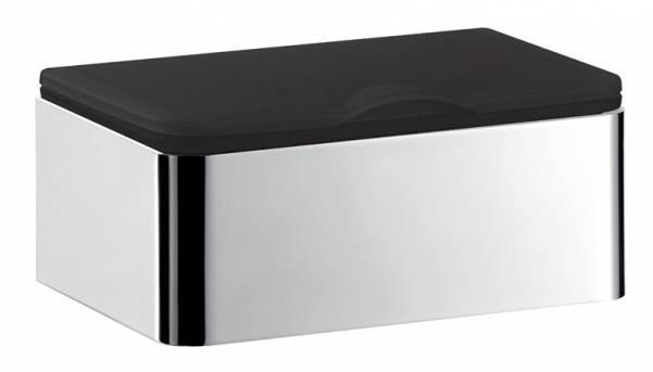 Emco system 2 Feuchtpapierhalter chrom/ schwarz - 353900101