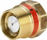 Viega Gas-Strömungswächter 2647.2S in Rp1 1/2x R1 1/2 x (16,0m3) Messing - 617912