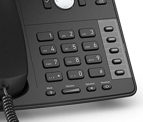 SNOM D715 Professional Business Phone schwarz