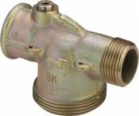Viega Gaszähler-Anschlussstück G2329 ohne Prüfschraube ausTemperguss - 531447